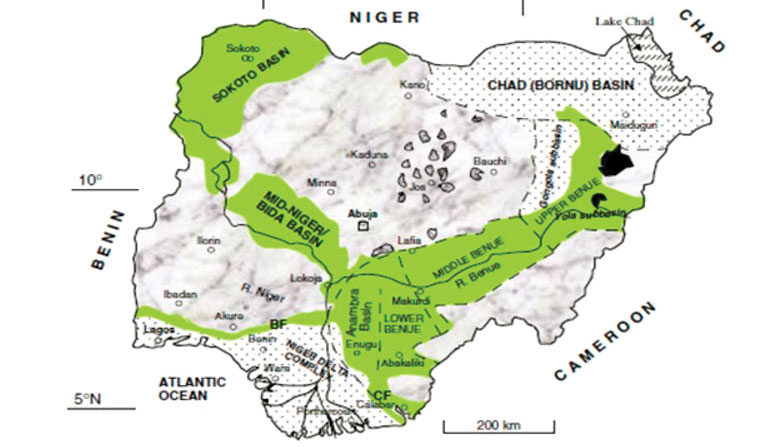Nigeria - Carbonate Rocks Project - Geological Map